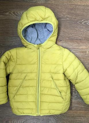 Zara курточка демисезонная
