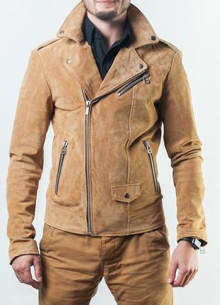 Мужская куртка goosecraft perfecto 604 - leather jacket