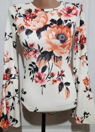 Комбидресс в цветы
