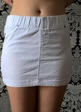 Белая юбка colin`s