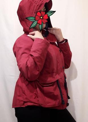 Женская парка ветровка куртка