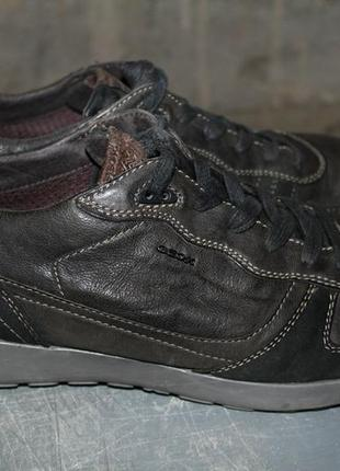 Кроссовки,спортивные туфли geox respira.45 размер.нубук.оригинал.