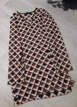 Блузка туника zara2 фото
