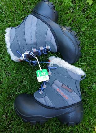 -32°с! зимние водонепроницаемые  ботинки сапоги columbia rope