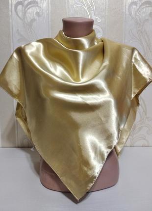 Золотой платок, 92*92