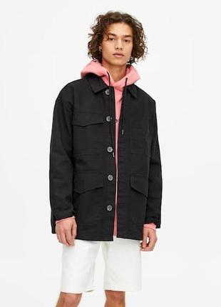 Куртки мужские pull&bear