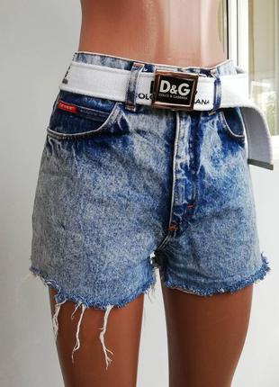 Шорты джинсовые/ высокая посадка