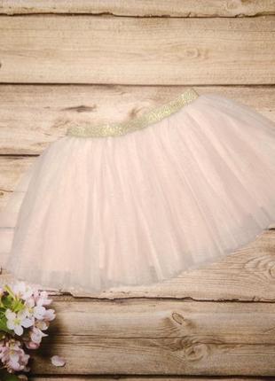 Красивая фатиновая юбка на 12-18 мес