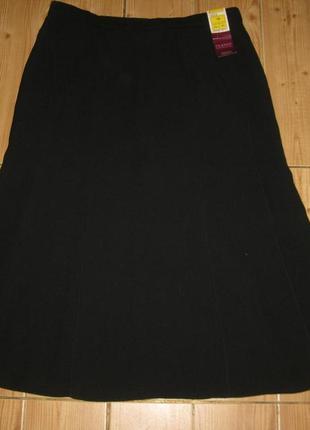 """Новая черная юбка """"m&s"""" р.50"""
