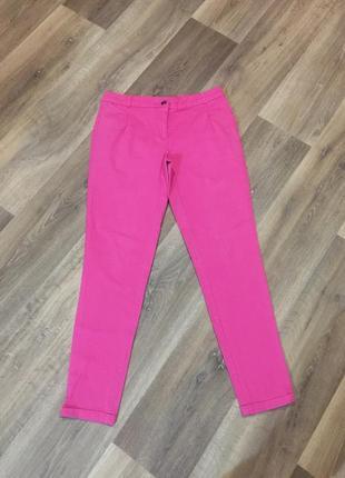 Розовые стильные штаны/брюки-чиносы  от bpc,на девочку 15 лет или на молодую девушку