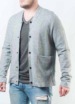 Cos mens grey wool  мужская куртка