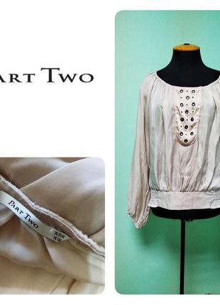 Атласная блузка part two