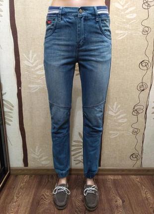Lee cooper. подростковые джинсы на резинке