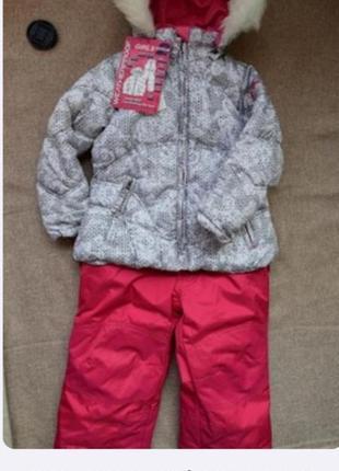 Якісний і теплий зимовий костюм на дівчинку із сша weatherproof.