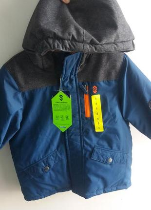 Терміново. якісна та тепла зимова куртка на хлопчика із сша на 5 і 6 років.