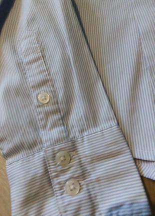 Рубашка полоска h&m3 фото