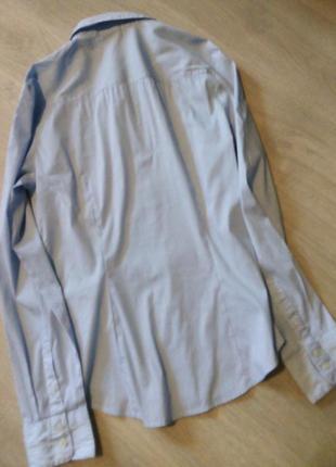 Рубашка полоска h&m7 фото