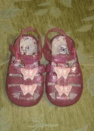 Силиконовые босоножки сандалии сланцы мыльницы