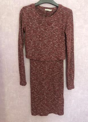 Платье bershka xs размер