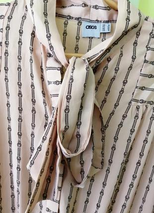 Миди платье рубашка от asos4 фото