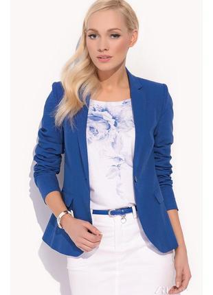 Стильный синий пиджак станет изюминкой вашего делового гардероба