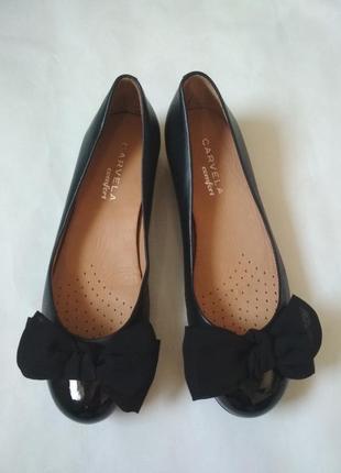 Полностью кожаные туфли ,балетки из серии комфорт !!!