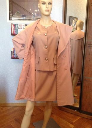 Шикарное английское летнее пальто (пыльник) бренда topcoat, 48-60