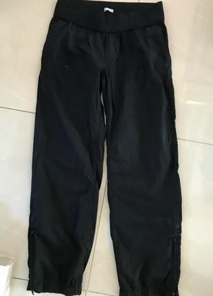 Хлопковые широкие  штаны для беременных gap
