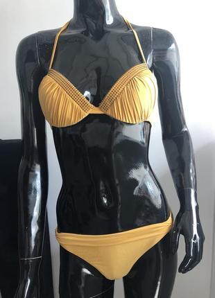 Купальник magistral желтый женский раздельный