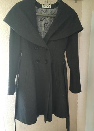 Пальто шерстяное демисезонное ruta-s