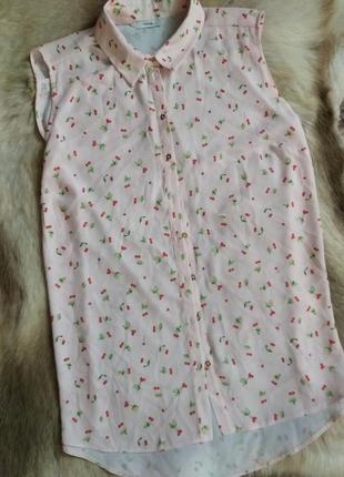 Блуза у вишеньку