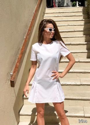 Платье с плиссе