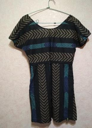 Лёгкое платье из натуральной ткани