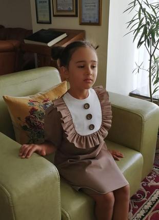 Платье школьное в школу на 1 сентября7 фото