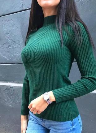 Гольф рубчик, свитер рубчик