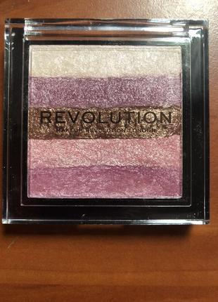 Makeup revolution shimmer brick бронзер и хайлайтер 2 в 1