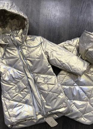 Крутейшая куртка для маленькой модницы
