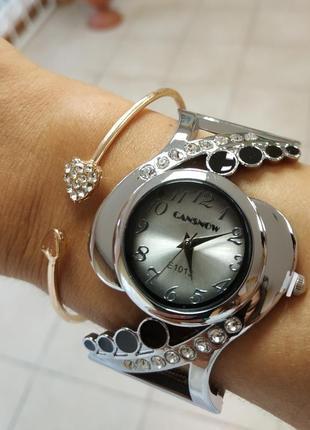 Часы женские cansnow на худенькую ручку.