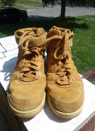 Шикарные спортивные ботинки натуральная кожа1 фото