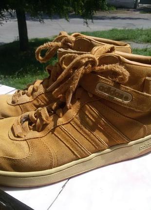 Шикарные спортивные ботинки натуральная кожа2 фото