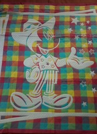 Простынь-одеялко-покрывало детская цветная, яркая, качественная