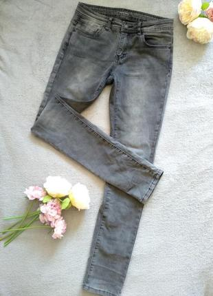 Серые джинсы time of style