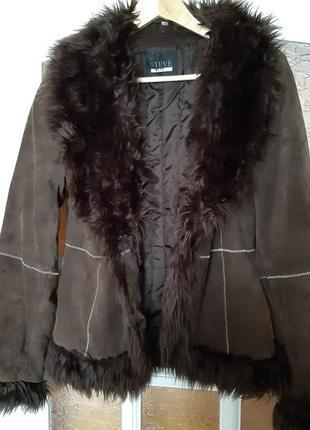 Курточка демисезонная под дубленку