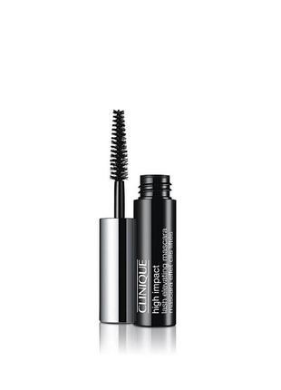 Тушь для ресниц clinique high impact lash elevating mascara (мини)  объем 4мл