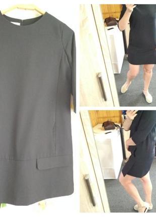 Стильное платье с карманами, spring fragrance, p. s-м