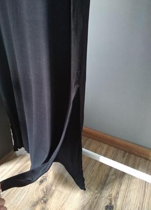 Длинное трикотажное платье5 фото