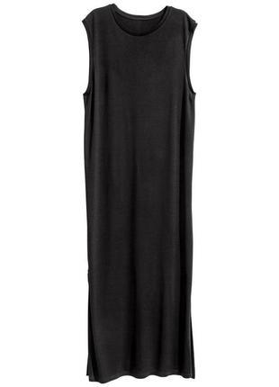 Длинное трикотажное платье2 фото