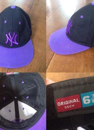 Бейсболка кепка  new york yankees р. 6