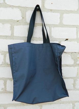 Эко сумка серая рип стоп сумка для покупок авоська сумка на плече мешочки для фруктов