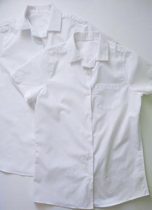 Школьная рубашка для девочки f&f англия размер 11-12 лет
